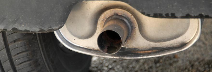 Un pot catalytique d'échappement